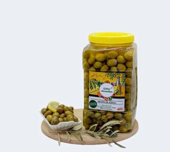Memecik (Cinsi) Yeşil Kırma Zeytin (2 KG)